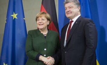 Angela Merkel, Petro Porošenka
