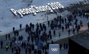 Pjongčango žiemos olimpinių žaidynių atidarymo ceremonija