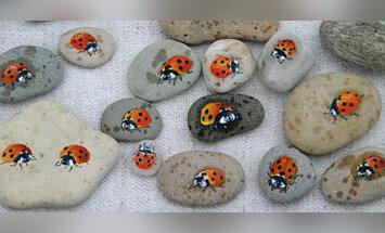 Išpiešti akmenukai
