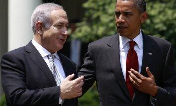 Benjaminas Netanyahu ir Barackas Obama