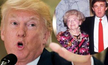 Atvirai apie tai, kokie iš tiesų buvo Donaldo Trumpo santykiai su motina