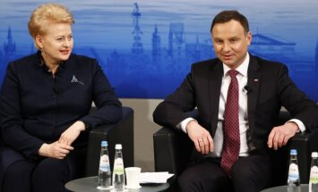 Dalia Grybauskaitė, Andrzejus  Duda