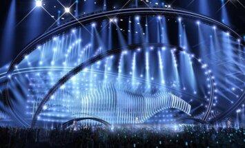 Eurovizija 2018 scenos vizualizacija