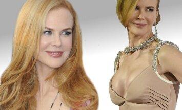 Nicole Kidman atsikratė  krūtų implantų