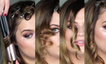 7 būdai, kaip pasidaryti tobulas plaukų garbanas