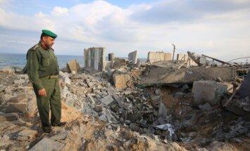 Izraelio aviacija smogė taikiniui Gazos ruože