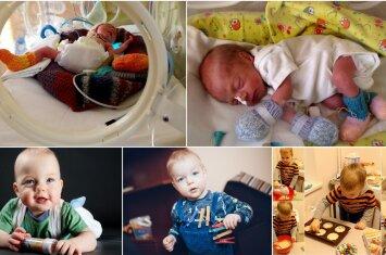 31 nėštumo savaitę gimusio Dominyko mamos padrąsinimas visoms ankstukų šeimoms
