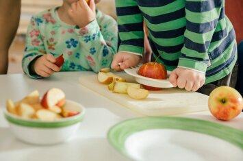 Sveikatai palankus valgiaraštis vaikams: vienos dienos pavyzdys