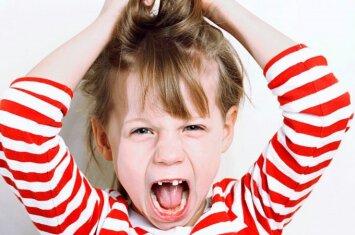 Vaiko pykčio priepuolis: kaip tinkamai sureaguoti