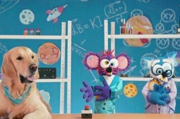 Edukacinė laida MOKSLO PELĖS kviečia tėvus su vaikais atlikti smagų eksperimentą