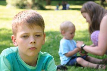 Psichologė: trokšdamas tėvų dėmesio, vaikas gali elgtis netinkamai