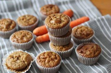 Ieškote skanių ir sveikų keksiukų recepto? – Prašom