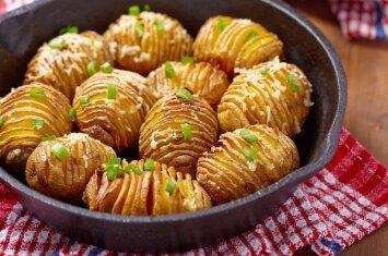 5 patiekalai su bulvėmis, kuriuos mielai kirs visa šeima