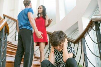 Šeimyninių barnių įtaka vaiko psichikai