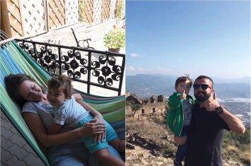 Turkijoje šeimą sukūrusi lietuvė: meilė vaikams čia veržiasi per kraštus
