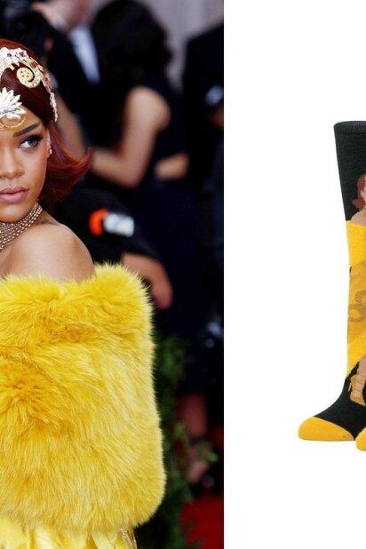 Dėl šių Rihannos kojinių stileivos kraustosi iš proto, pirmosios jau išparduotos!
