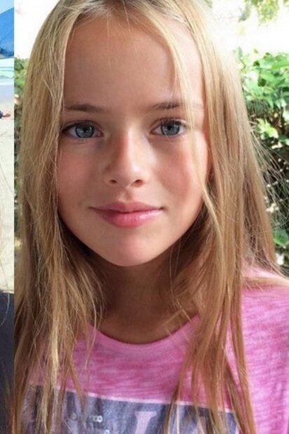 Gražuolė modeliu dirbanti 10 - metė daugeliui vis dar kelia neigiamus jausmus (FOTO)