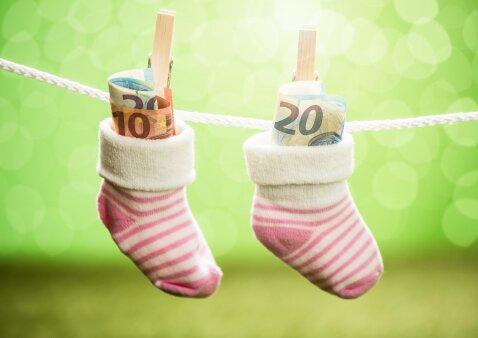 Dauguma tėvų dar neužpildė prašymų dėl Vaiko pinigų