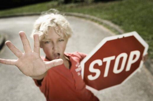 Vaikas ožiuojasi: protingiausia, ką šią minutę gali padaryti tėvai