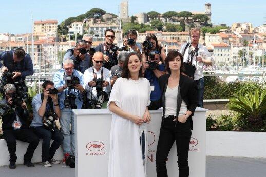 Charlotte Gainsbourg ir Marion Cotillard