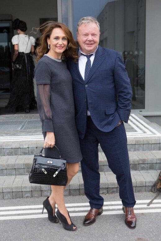 Benas Gudelis su žmona Izolda