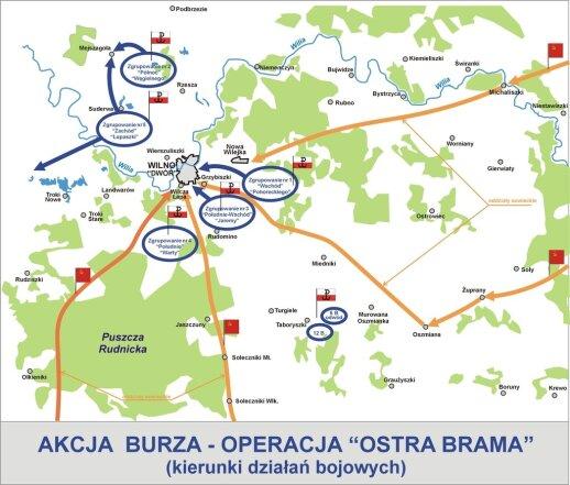 Operacja Ostra Brama. By Lonio17 - Praca własna, CC BY-SA 3.0, https://commons.wikimedia.org/w/index.php?curid=6556506