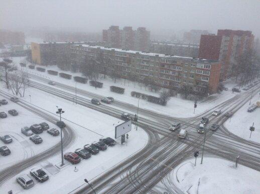 DELFI skaitytojų akimis: į Vakarų Lietuvą sugrįžo žiema