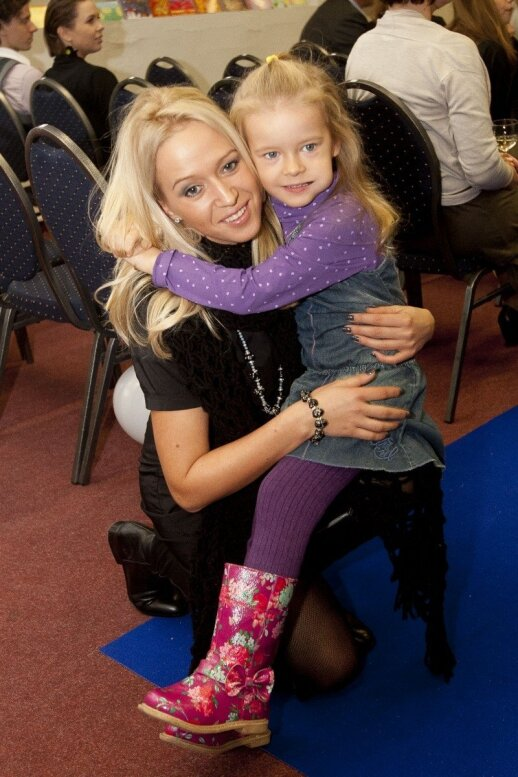 Elena Puidokaitė-Atlanta su dukra