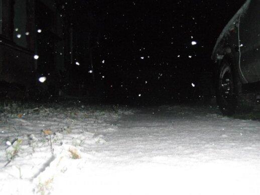 Lietuvoje iškrito pirmasis sniegas. Matei? Atsiųsk nuotrauką!