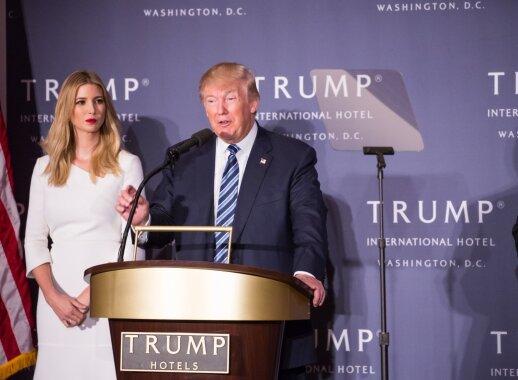 Ivanka Trump: kas ji, pirmoji šalies dukra, dažnai atliksianti ir pirmosios ledi pareigas