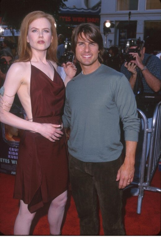 Nicole Kidman ir Tomas Cruise'as