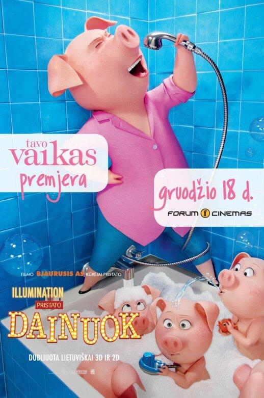 TAVO VAIKO premjeroje – animacinė komedija DAINUOK
