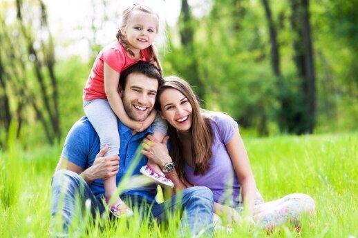 TĖČIAMS: kaip užmegzti ryšį su vaiku nuo gimimo