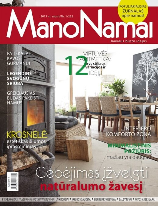 """""""Mano namai"""" naujame numeryje - apie stilingas ir funkcionalias virtuves"""