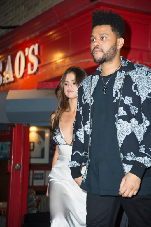 Selena Gomez ir The Weeknd