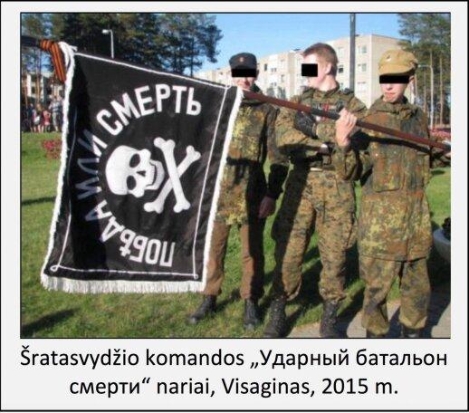"""ДГБ: в Висагинасе сформировался """"Ударный батальон смерти"""""""