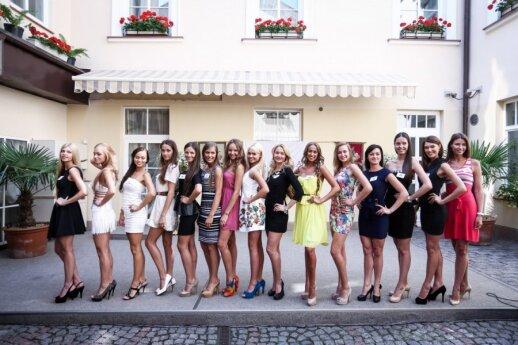 """Finalistki """"Miss Litwa 2013"""""""