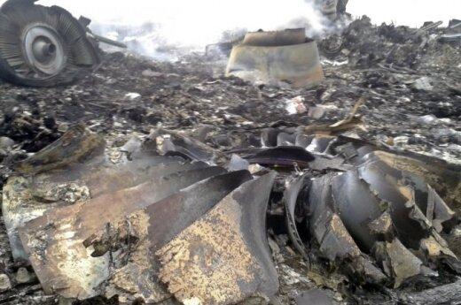 Ukrainoje nukrito Malaizijos oro linijų lėktuvas
