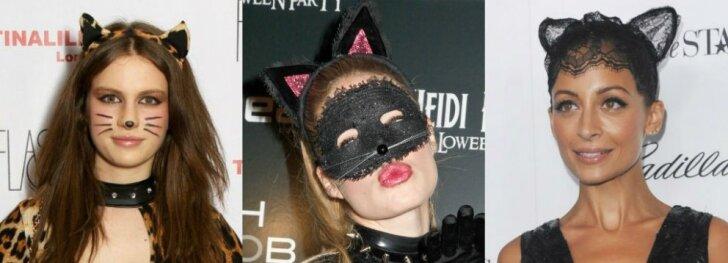 Ruoškis Helovinui: katytės įvaizdis + makiažo VIDEO