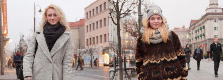 Gatvės mada: derinukai nežiemiškam gruodžiui(FOTO)