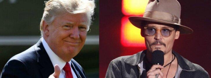 Donaldas Trumpas, Johny Deppas