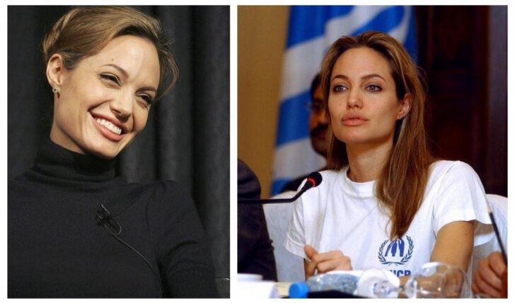 Angelinos Jolie išvaizdos aspektas, neraminantis gerbėjus labiau nei itin lieknos kūno formos (FOTO)