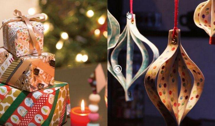 """Artėjančioms šventėms: idėjos kaip sukurti kalėdinę nuotaiką su """"washi"""" lipnia juostele (FOTO)"""