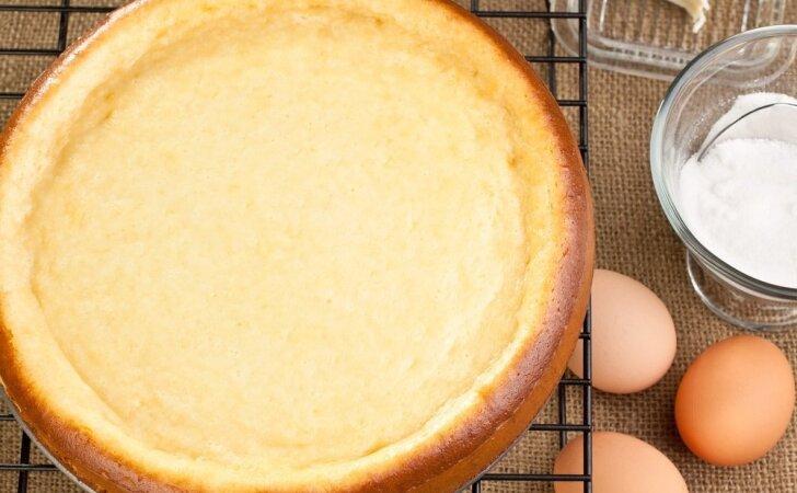 Paskanintas varškės apkepas: vienos porcijos neužteks