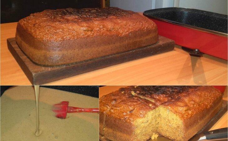 Nepaprastai purus meduolinis pyragas