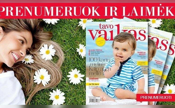 """Prenumeruok žurnalą TAVO VAIKAS ir išsaugok plaukų grožį! <sup style=""""color: #ff0000;"""">REZULTATAI</sup>"""