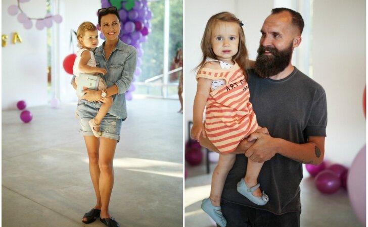 Stilingiausios mamos ir tėčiai susirinko mažylių šventėje