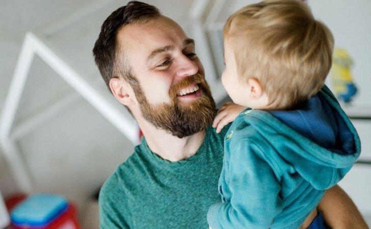 Atvira trijų vaikų tėčio išpažintis: aš nuogas