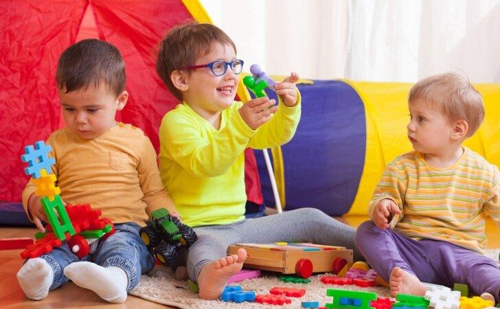 Taisyklė, kurios turi laikytis vaikų darželius lankančių vaikų tėvai