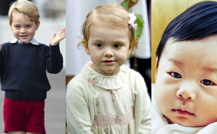Žavingi karališkieji kūdikiai: nauja valdovų karta, kuri kol kas dar su sauskelnėmis